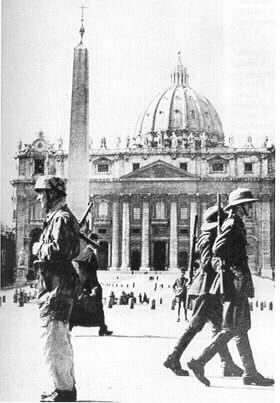 Tedeschi a Roma